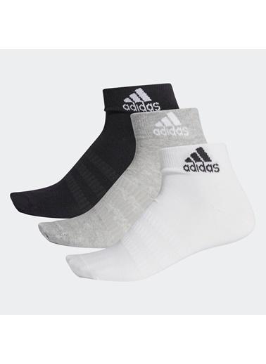 adidas Adidas Unısex Günlük Çorap Dz9434 Lıght Ank 3Pp Gri